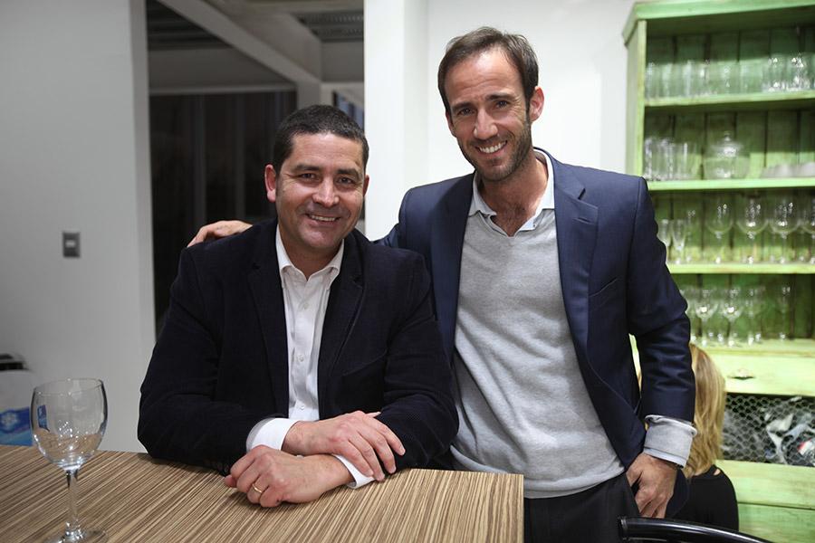 José Luis Bravo y Juan Ruiz Tagle