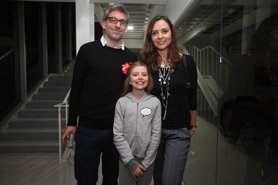 Roberto Del Piano, Amalia Leng y Elena Dressel