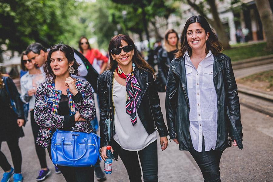 Connie Achurra, Joyce Power y Valentina Espinoza