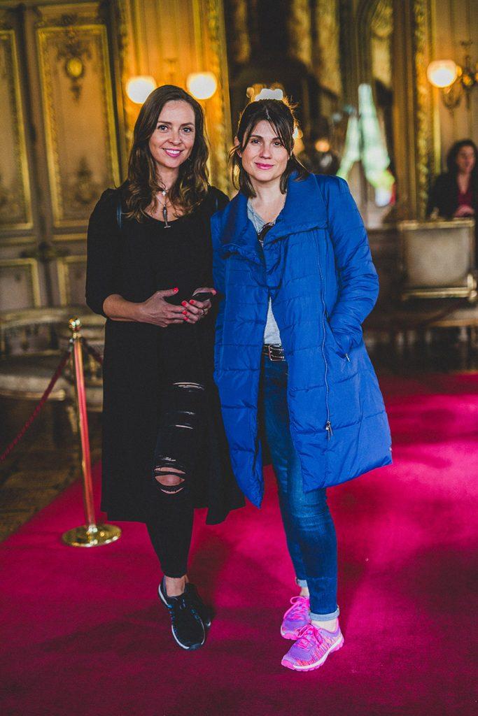 Elena Dressel y Verónica Calabi