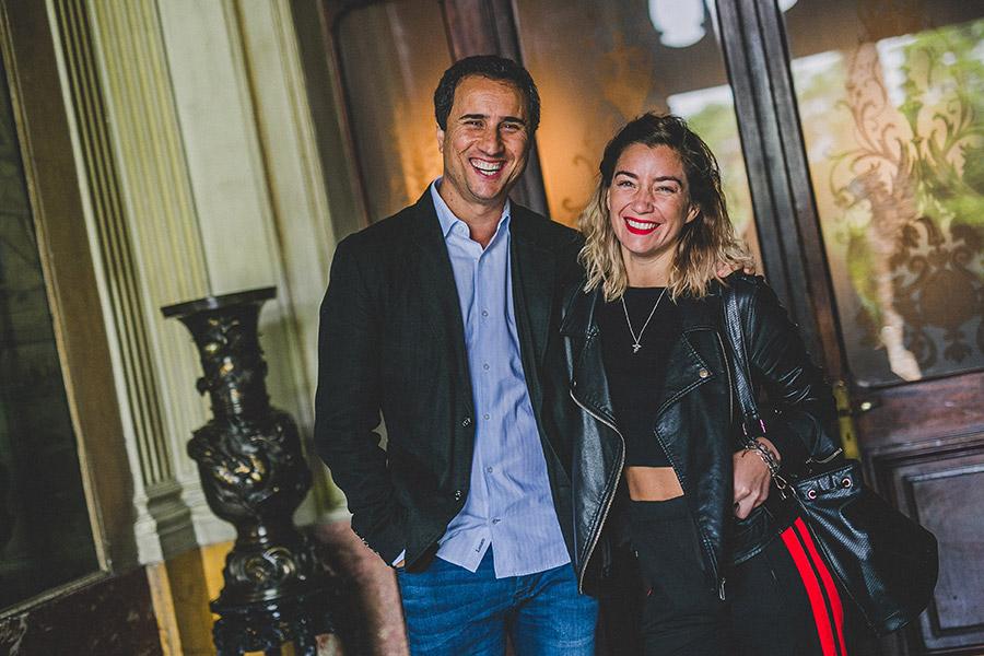 Rodrigo Guendelman y Camila Santa Ana