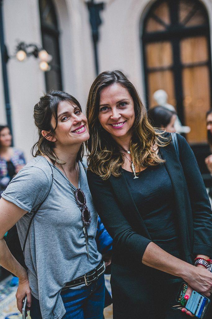Verónica Calabi y Elena Dressel