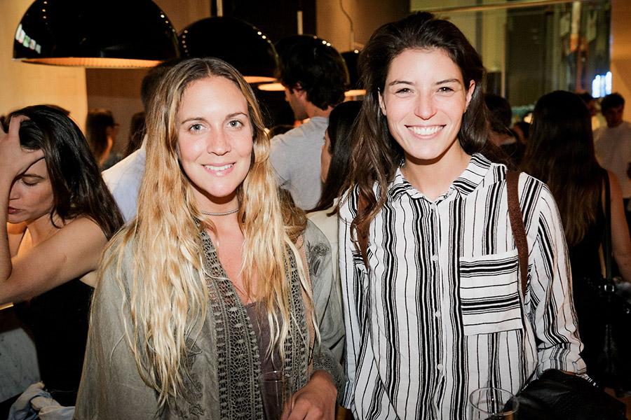 Camila Claps y Javiera Beltrán