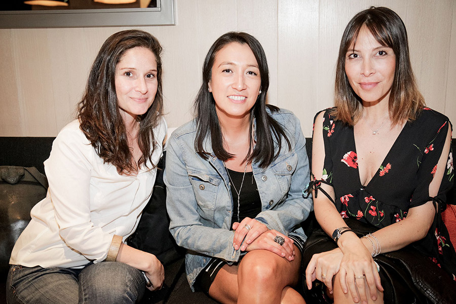 Carolina Parada, Daniela Cárdenas y Carola Montenegro