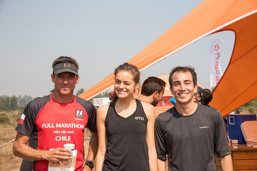Francisco Fuentes, Sara Bravo y Fernando Carreño