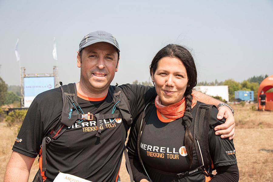 Gonzalo Escalona y Carola Gómez