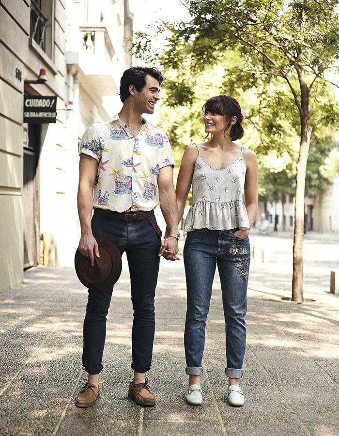 """Josefina: """"Me gusta mucho la seguridad y la templanza que él tiene para observar el mundo"""" / Jorge: """"Me gustan la energía y la creatividad  con que ella hace las cosas""""."""