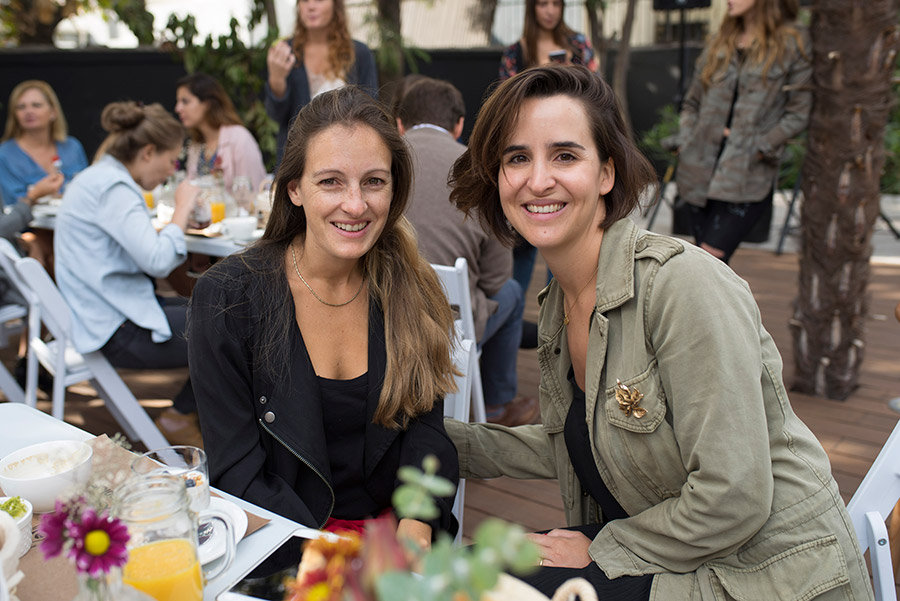 Barbara Luders y Josefina Zuazola