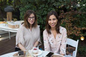 Florencia Gioia y Patricia Morales