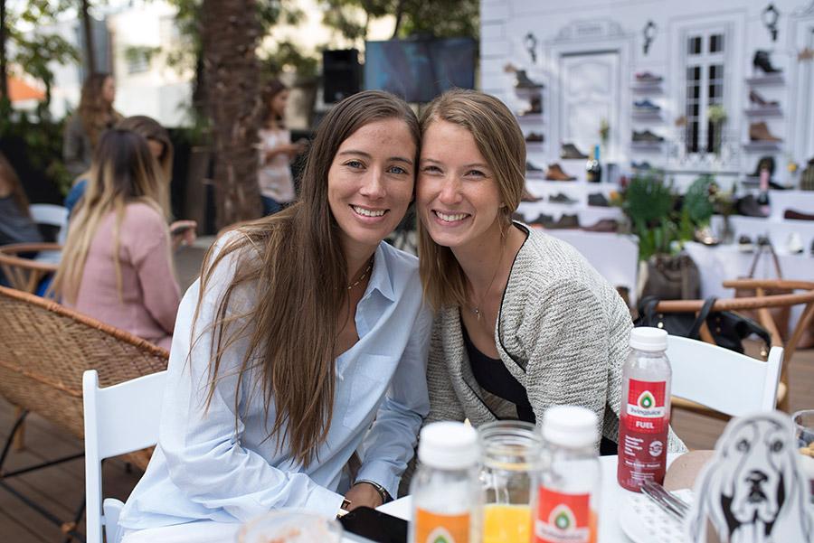 Florencia Niemayer y Camila de la Mare