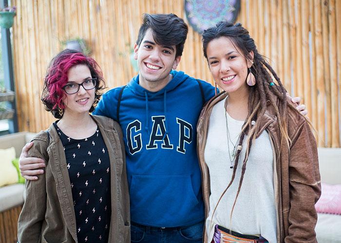 Ignacia Casal, Nicolas González y Josefa Bulo