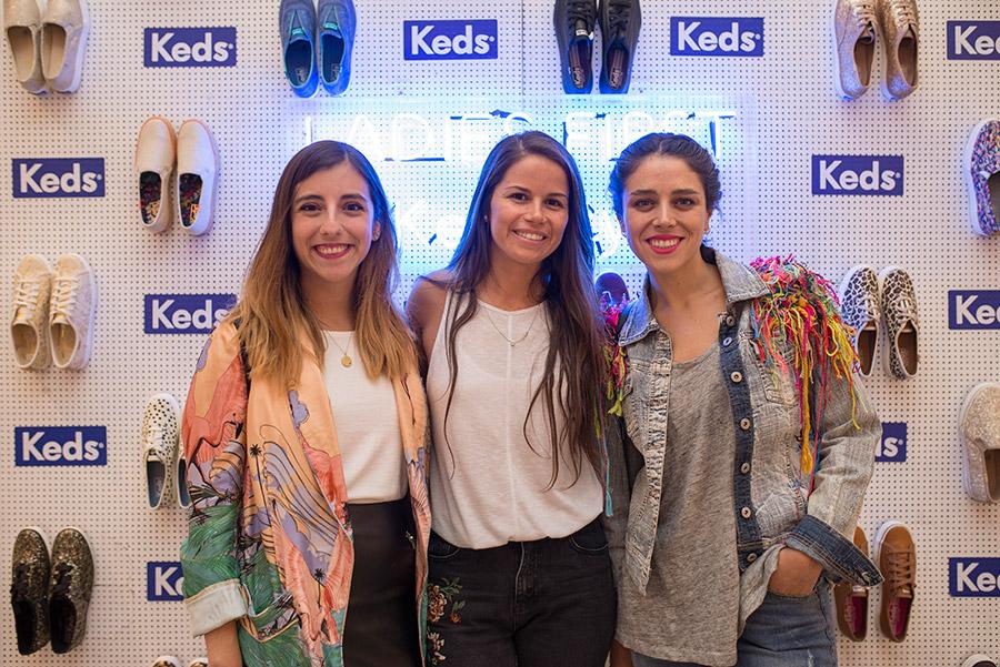 Josefina Jimenez, Daniela Hartley y Trini Guzman