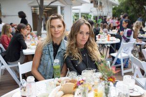 Josefina Pooley y Antonia Bulnes