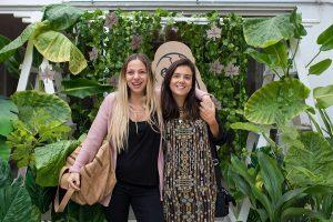 Mariana Derderian y Lili Orellana