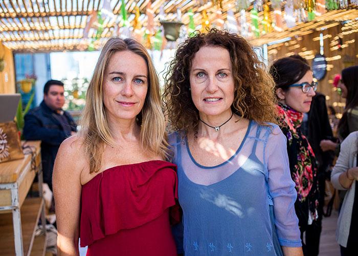 Mayte Pascal y Marcela Telias