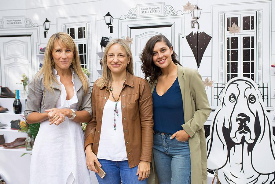 Paula Loyola, Natalia del Campo y Bárbara Pezoa