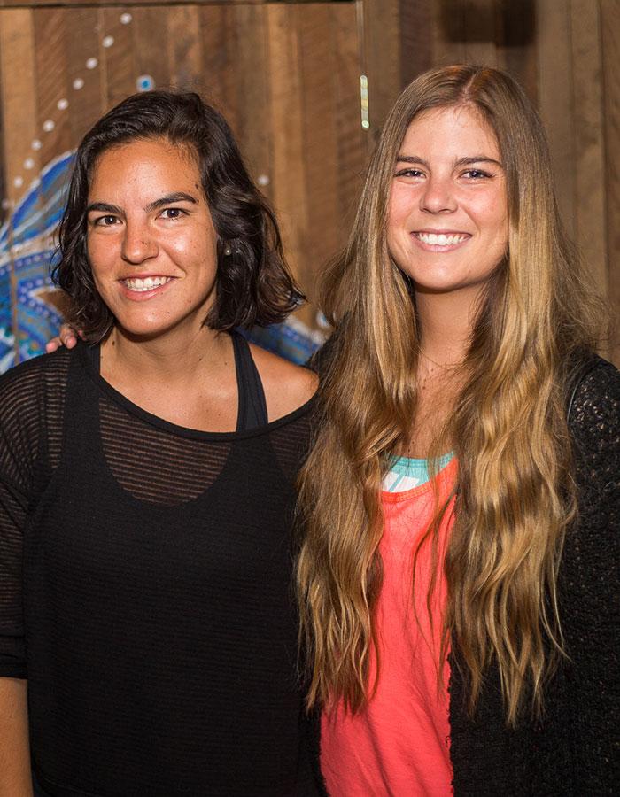 Trinidad Pérez y Elisa Cousiño