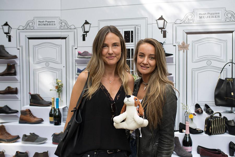Valeska Barends y Nicole de Giorgis