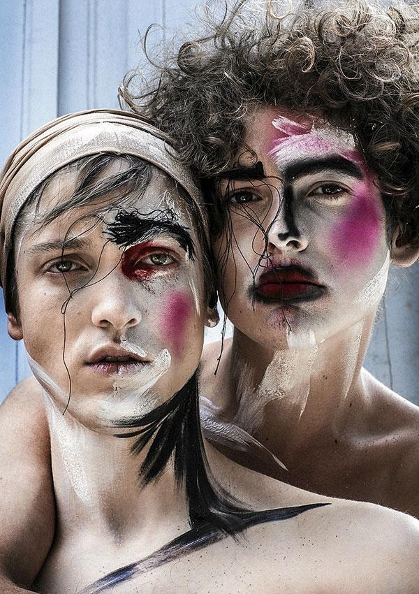 Maquillaje de Vero Mónaco para el concurso de L'Oréal.