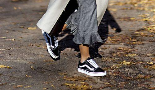 Back to black! La zapatilla negra
