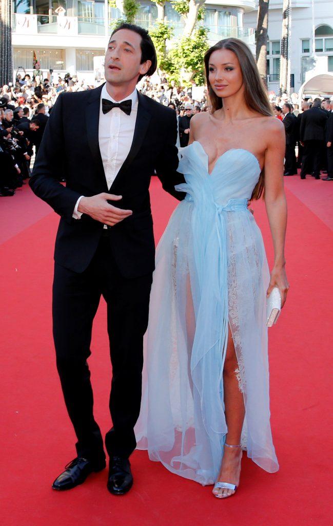Adrien Brody con Lara Nieto