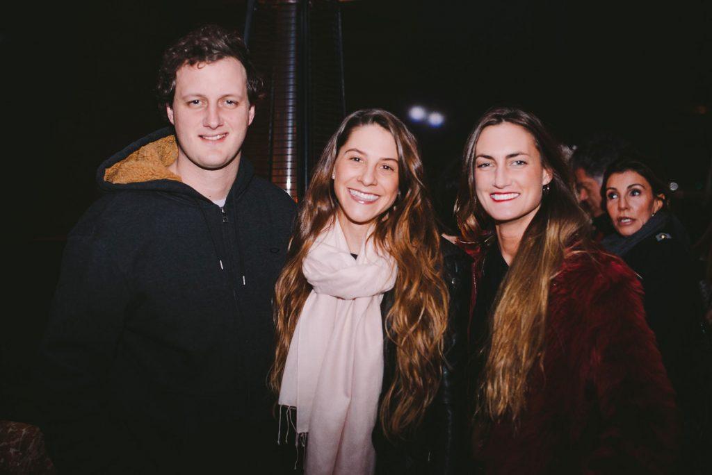 Benjamín Bulnes, Bernardita Quintana y Magdalena Bulnes
