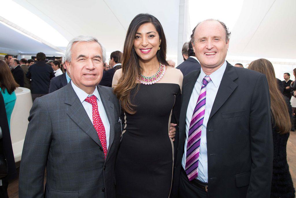 Fernando Siña, Carola Jorquera y Cristian Jijena