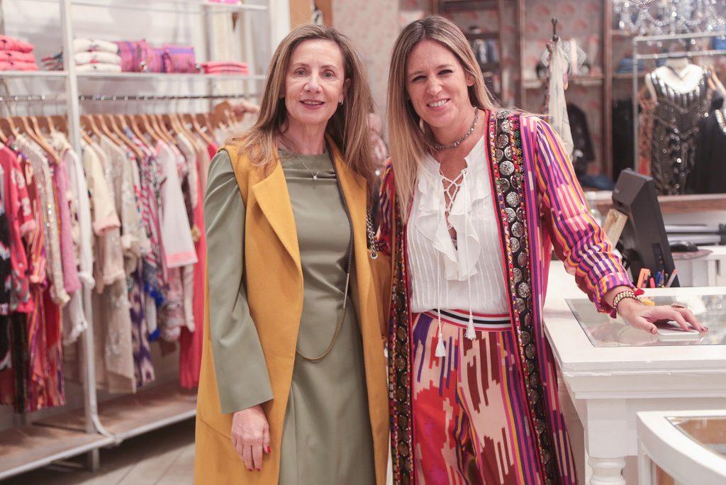 Andrea Eluchans y Juliana Vannoni