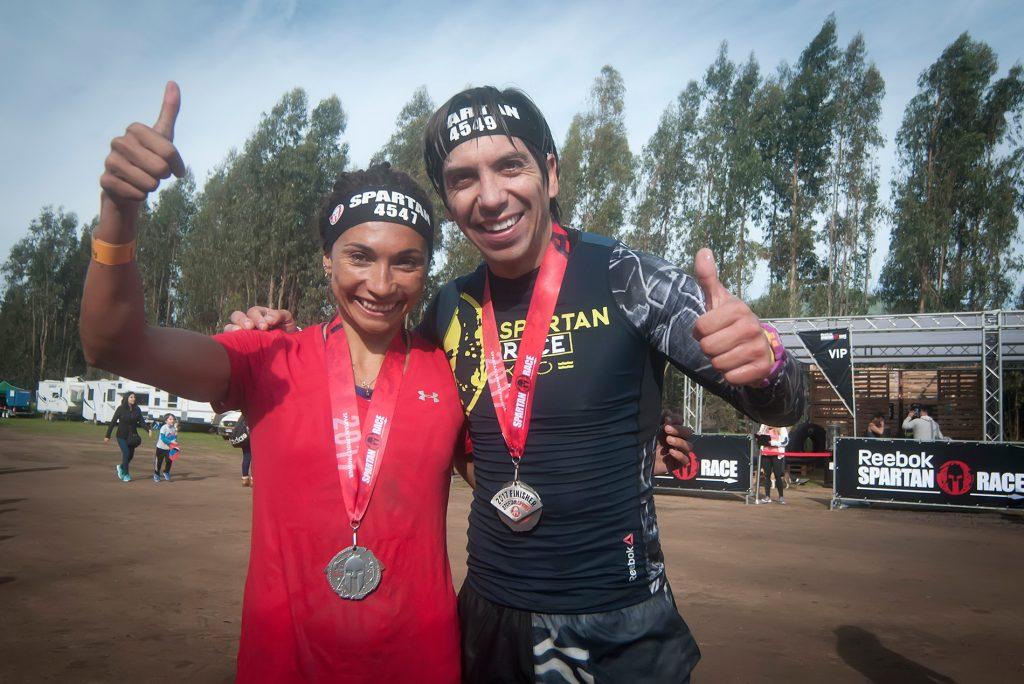 Macarena Reyes y Daniel Pineda