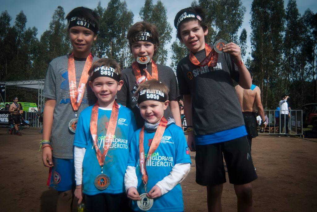 participantes-de-Spartan-Kids