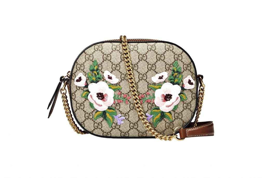 "Una cartera de  ""The Souvenir Collection"" (2016), de Gucci."