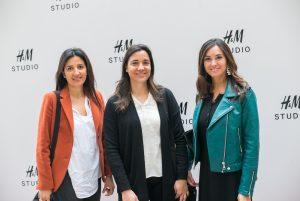 Ana María Manzano, Lorena Vergara y Soledad Salgado