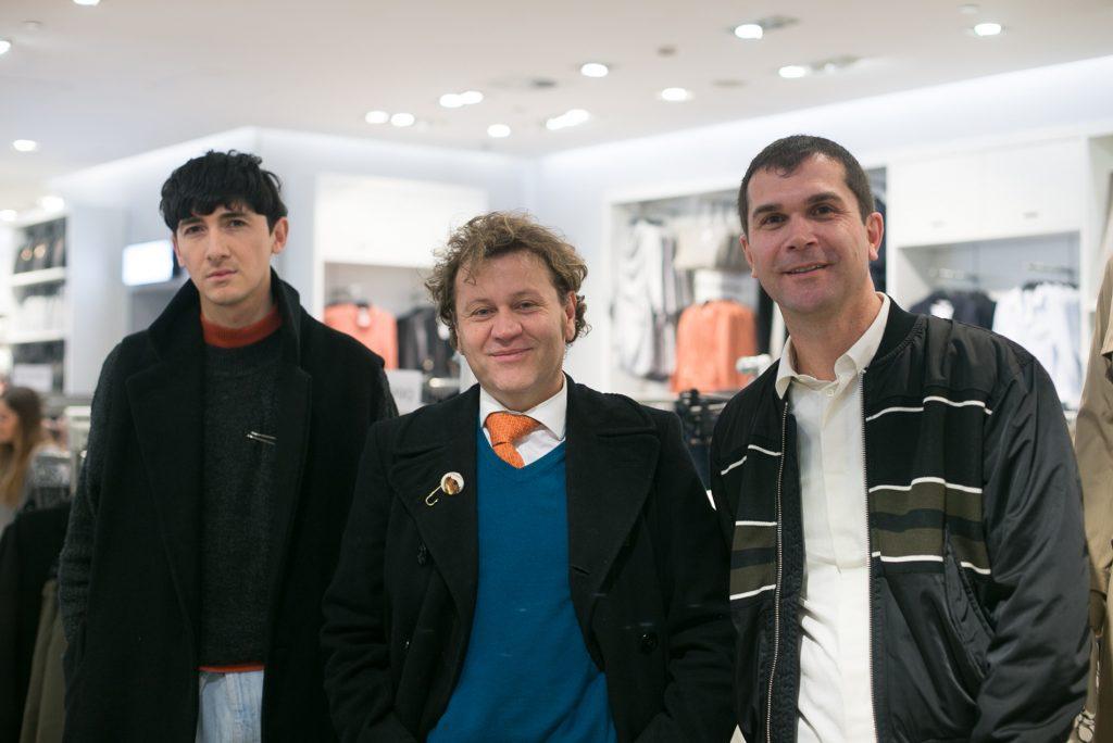 Antonio Contreras, Alfredo López y Harold Michelsen