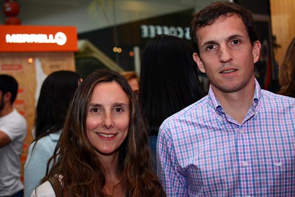 Catalina Rioja y Sergio Contardo.