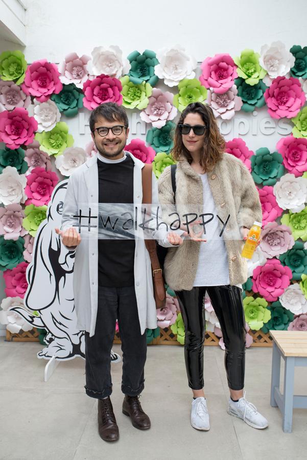 Daniel Pacheco y Sara Lavín.