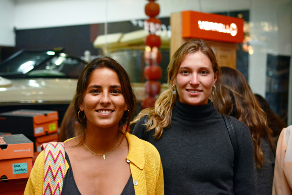 Florencia Arce y Candelaria Molina.
