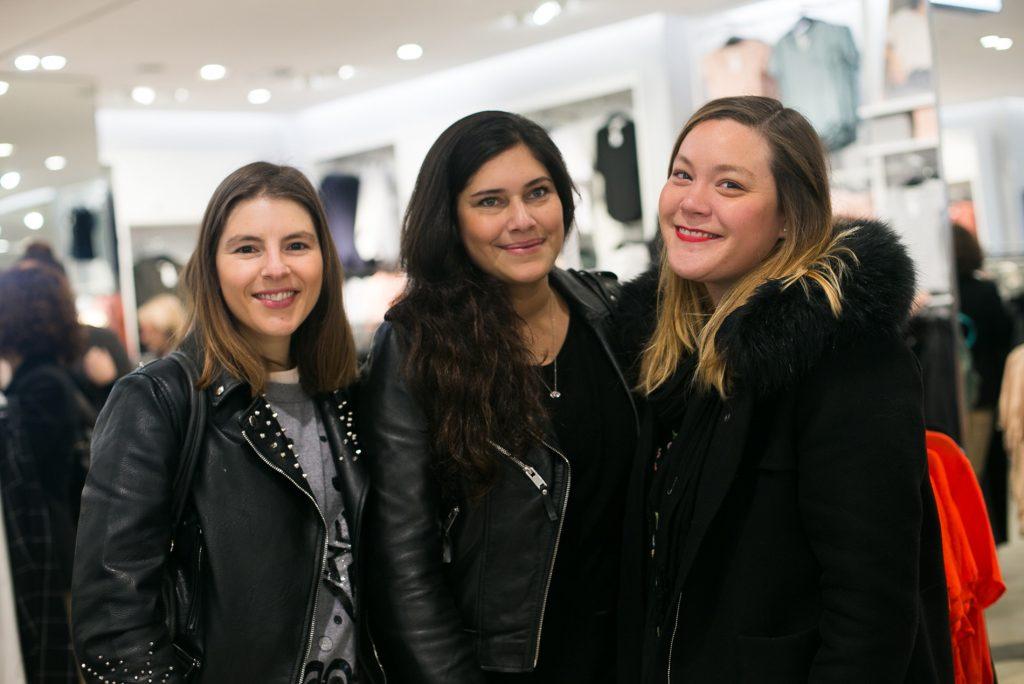 Fran Moreno, Natali Oses y Belén Trivelli