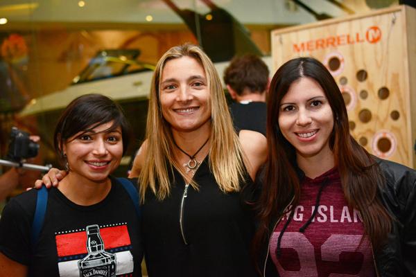 Loreto Pérez, Francisca González y Valentina Santis.