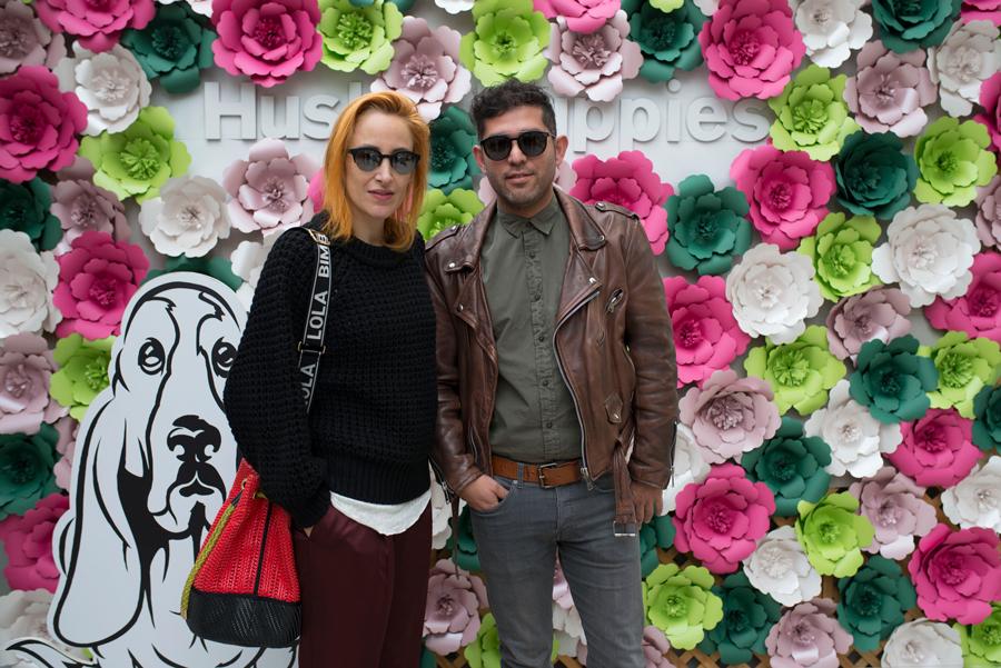 Natalia Schwazenberg y Rodrigo Farías.