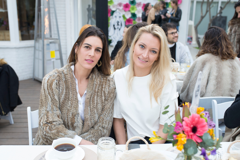 Soledad Llona y Dominique Clerc.
