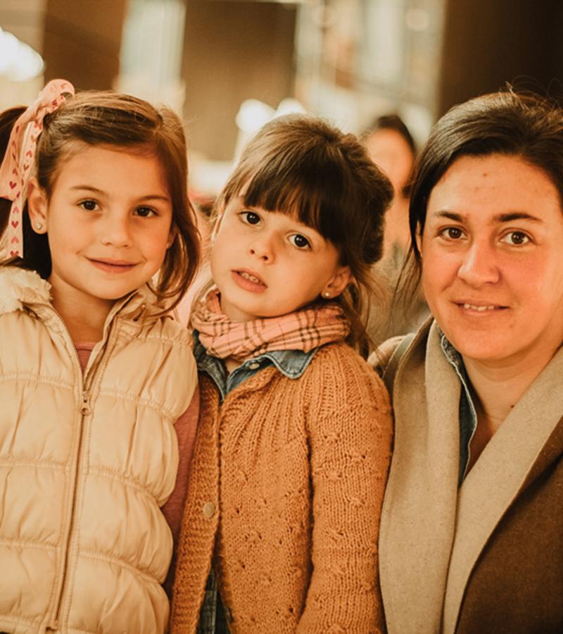 Ana Liz Machado, Juana Larraín y Catalina-Barahona