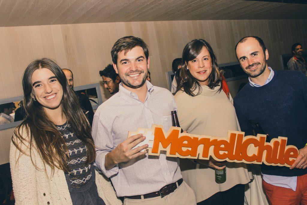 Ana María Poblete, Manuel José Larraín, Constanza Agüero y José Molina