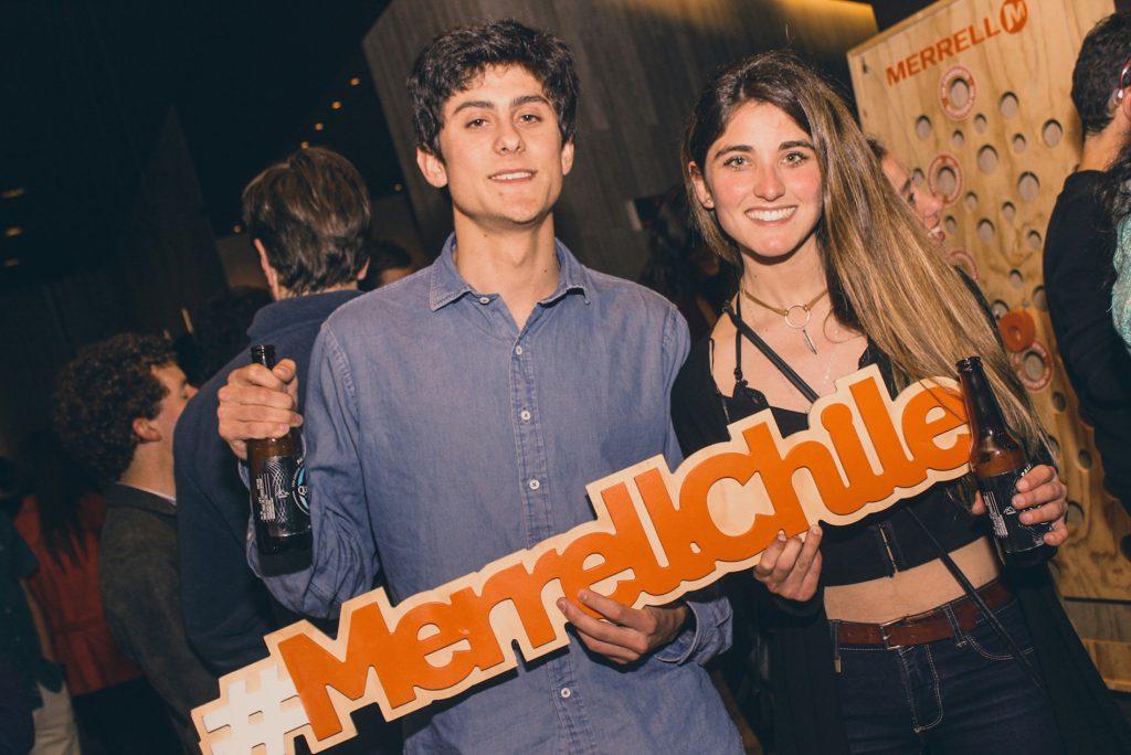 Diego Stranger y Denise Olivos