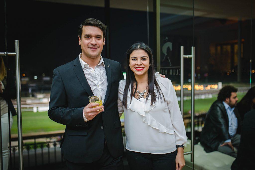 Nicolás Galinoviz y Aracelly Vera