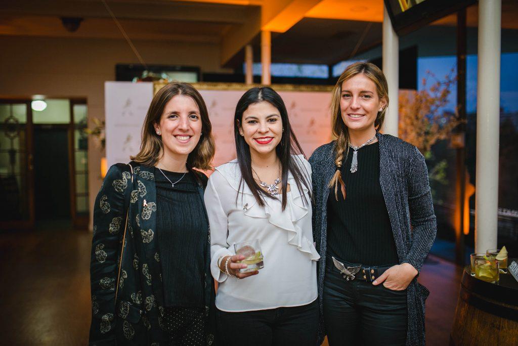 Soledad Hidalg, Aracelly Vera y Antonia Molina