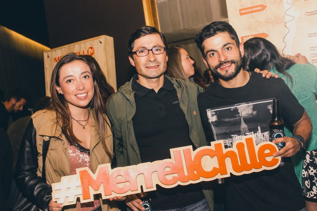 Rocío Bastías, Juan Pablo Jaures y Pablo Hans