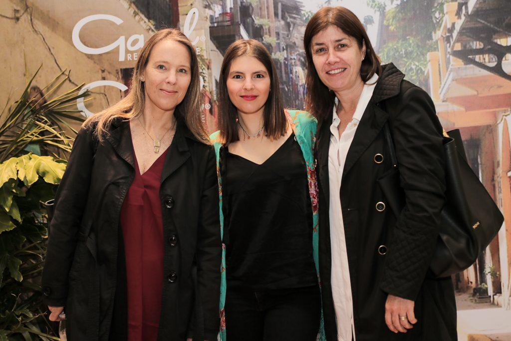 Sofía Beuchat, Francisca Moreno y Ximena Borrowman