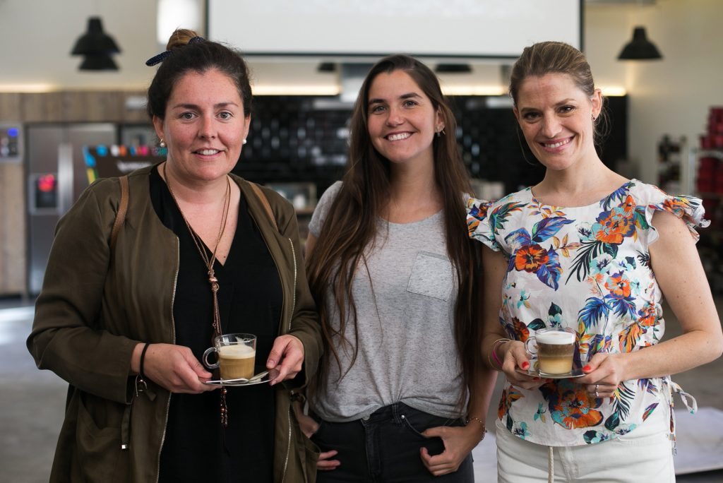 Alejandra Mulet, Maida Mas, Daniela Becker