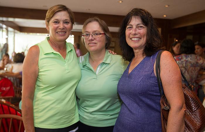 Anne Marie Obrecht, Leti Obrecht y Jacquelin Obrecht