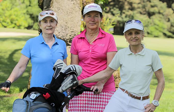 Cecilia Fabre, Magdalena Detigny y Vrginia Armane